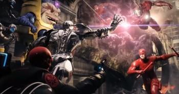 การต่อสู้ของฮีโร่ทั้งหมดของค่าย Marvel