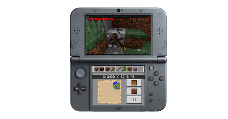 Minecraft เวอร์ชั่นสำหรับ New 3DS