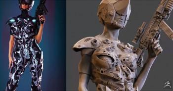 มาดูคลิปปลุกจินตนาการในการสร้างงาน 3D กัน !!!