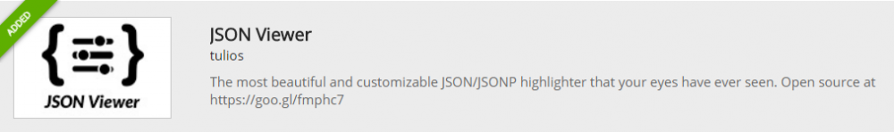 json viewer plugin