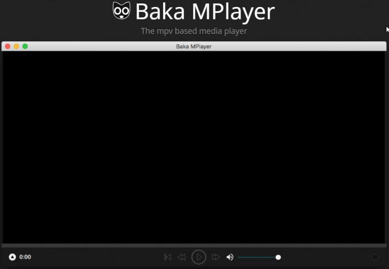 Baka MPlayer โอเพ่นซอร์ส