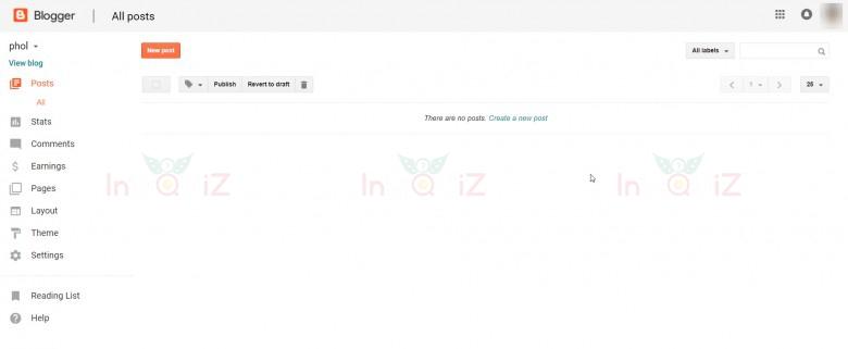 blogger.com เครื่องมือสร้างเว็บบล็อกฟรีจาก google