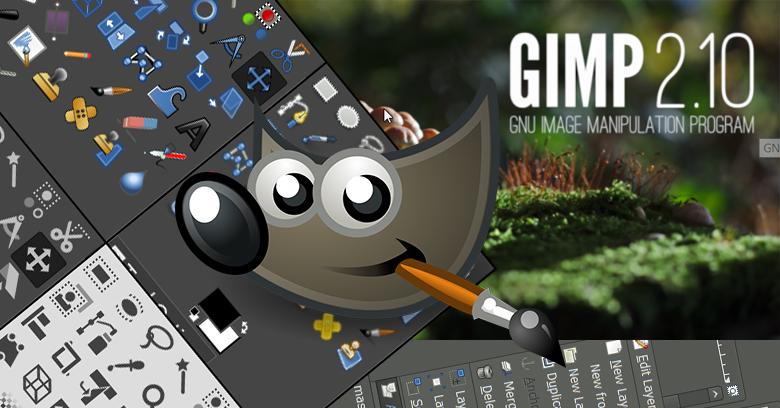 gimp สุดยอดโปรแกรมแต่งรูปฟรี(Open Source) ใช้แก้ไขภาพ ตัดต่อ รีทัช วาดรูป