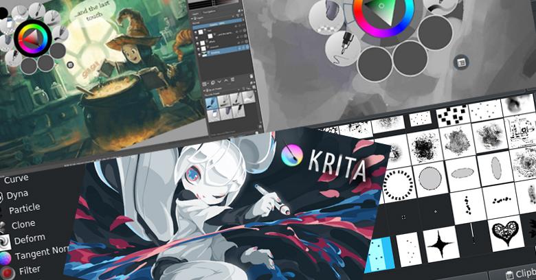 โปรแกรมวาดรูป Krita Studio สุดยอดโปรแกรมวาดรูปฟรีมีดีไม่แพ้ Photoshop
