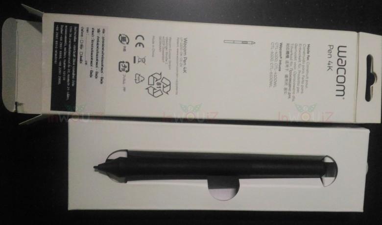 ปากกา wacom ที่ซื้อมาใหม่แทนอันเก่าที่เสีย