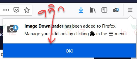 ติดตั้ง Image Downloader ในfirefox