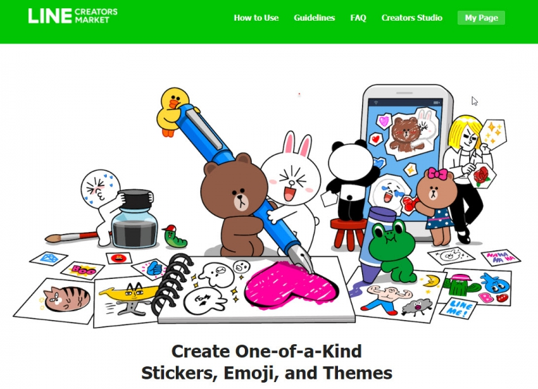 ออกแบบและวาด sticker ขายในแอพ Line