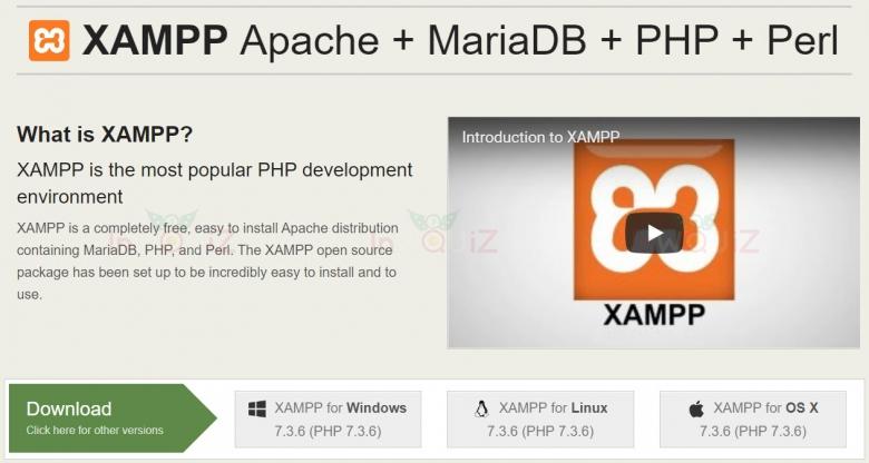 ติดตั้ง XAMPP เพื่อจำลองเครื่องคอมเราให้เป็น Server