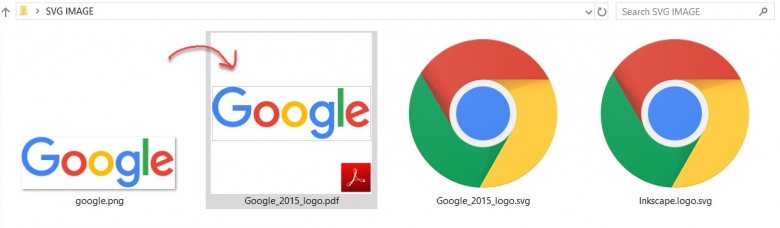 แปลงไฟล์ SVG เป็น PDF