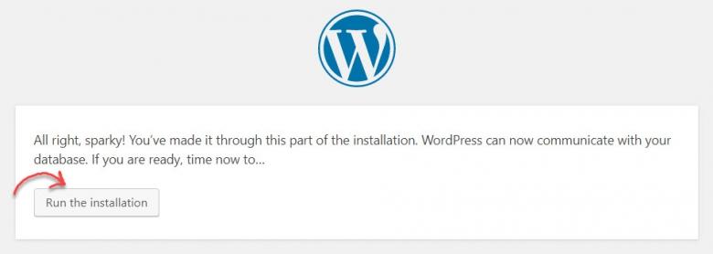 วิธีการติดตั้ง Wordpress