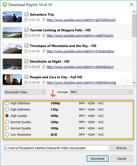 วิธีโหลดวีดีโอจากยูทูป-youtube ลงคอมด้วยโปรแกรม 4K Video Downloader