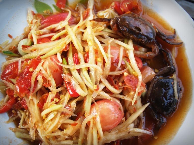 อาหารไทยตำปู