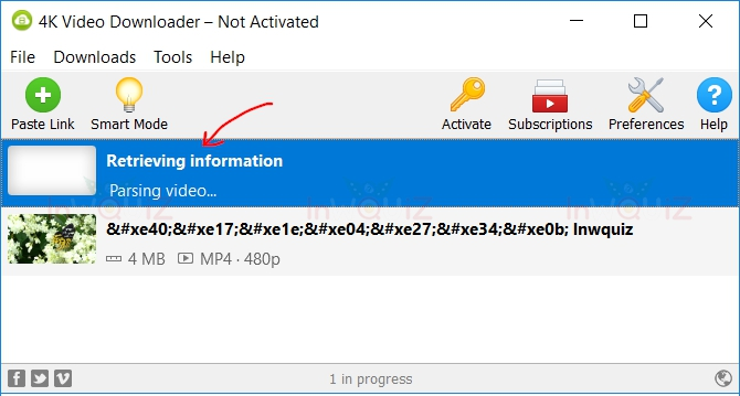 วิธีโหลดวิดีโอจาก facebook ด้วยโปรแกรม 4K Video Downloader
