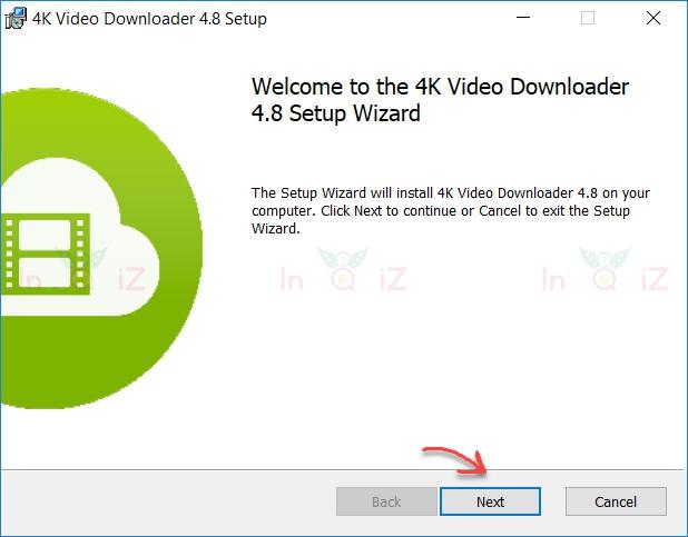 ติดตั้งว่าโปรแกรม 4K Video Downloader