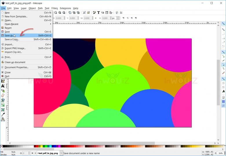เลือกไฟล์ PDFที่ต้องการแปลงเป็น SVG