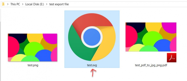 วิธีแปลงไฟล์รูปPDF เป็น SVG