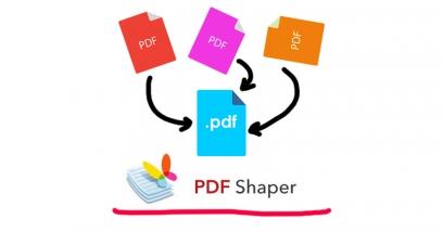 รวมไฟล์ PDFเป็นไฟล์เดียวด้วยโปรแกรม PDF Shape ใช้ง่ายใช้ฟรีไม่มีโฆษณากวนใจ