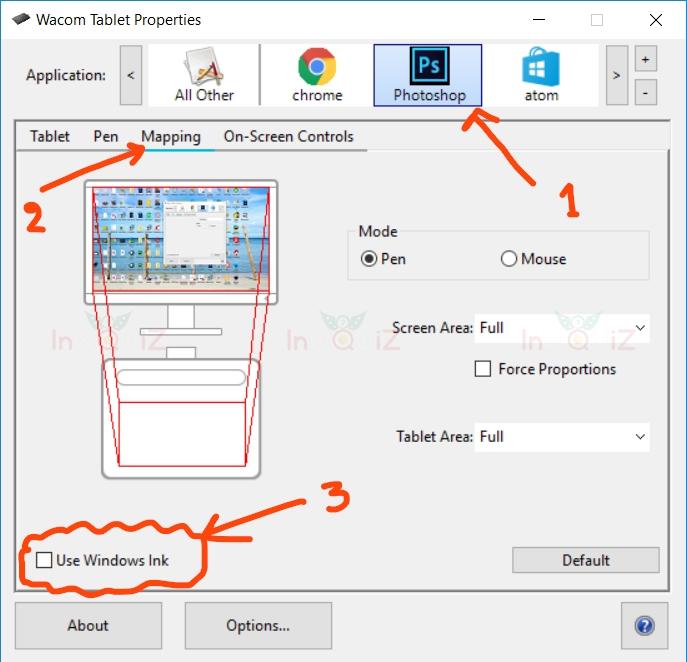 ตั้งค่าปากกา Wacom ให้สามารถใช้ Brush ลงแรงกดนำหนักหนักเบา(pen pressure) ของ Brushใน Photoshop